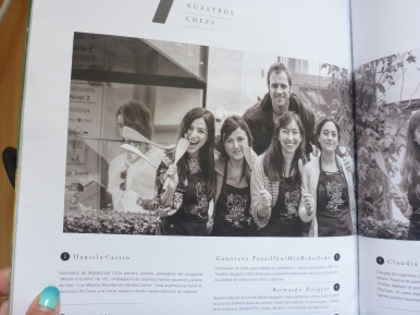 """Aparicion en revista Caras en edicion especial """"Caras a la Carta"""""""