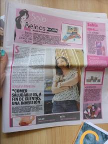 """Opinion en """"La Cuarta"""" sobre la alimentacion de los Chilenos"""